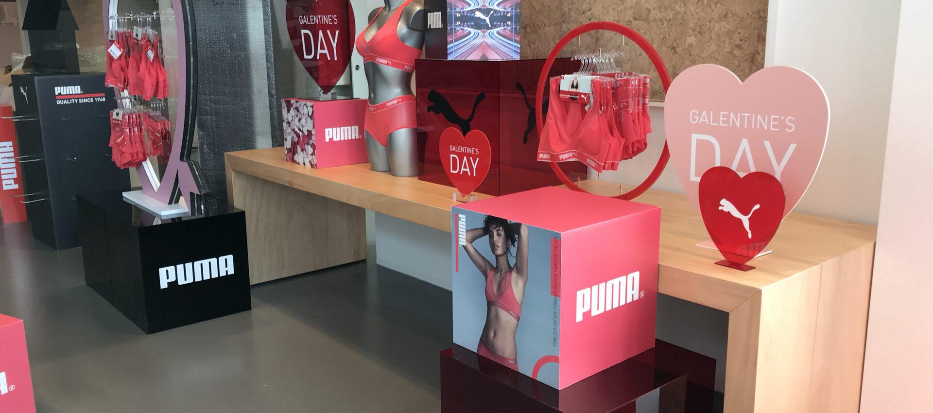 Puma displays